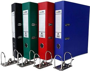 Pack Of 4 - Executive Box File - Legal Size Box file with removable clips.