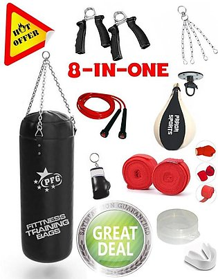 Speed Ball Complete Set rope stand bag hand grip bandages