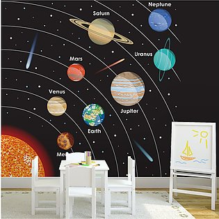 Wall Murals for Kid Bedroom, Living Room,  Offices, Restaurants & Cafes - Mod...