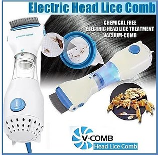 Lice Removing Machine Anti Lice Electric V Comb  Hair Treatment