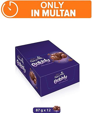 Dairy Milk Bubbly 87g (One Day Delivery in Multan)