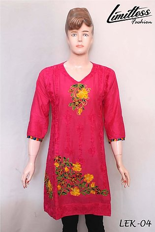 New & Latest Embroidered Kurtis for women