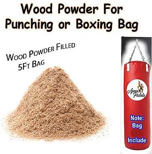 Wood Powder Filled 5ft Punching Bag or Boxing Bag For Punching Boxing or Exercise