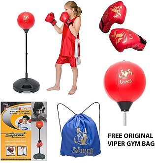 Children Boxing Set , punching Bag with Gloves And Adjustable Signify youngsters