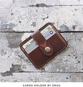 Pasha leather wallet by Snug
