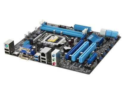 P8H67-M LE REV 3.0 New H67 B3 Revision Micro ATX LGA 1155 Socket Motherboard USB 3.0 SATA 3.0 6GB/S For 2nd & 3rd Generation Core i3 Core i5 Core i7 LGA 1155 Processors (Refurbished)