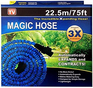 Magic Hose Pipe - 75 Feet - Green & Blue