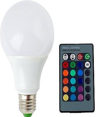 Remote Controlled LED Bulbs - White