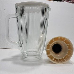 Juicer Mixer Milk Shake Glass Jug 1.5 liter Complete with Base For National Jui…