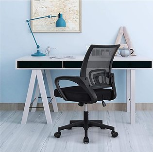 Yaheetech Executive Desk Chair Adjustable and Swivel Home Office Chair Mid-Back…