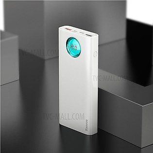 Baseus - 20000mAh - Four USB PD - QC Fast Charger -  - White - Wireless Charg...