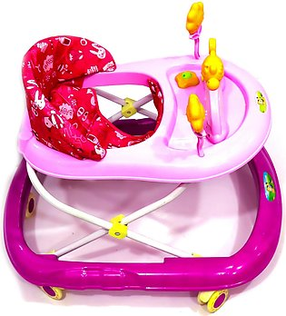 Lightning Music Baby Walker Car & Cristal Wheels - Easy Convertible From Acti...