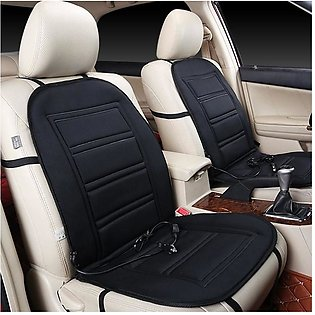 Heated Car Seat Cushion - Auto Seat Cover Warmer Auto Headed With Lumbar Suppor…