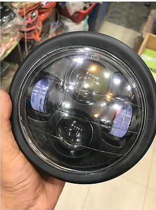 Round Projector Headlight For Bike Motorbike Motorcycle High Quality