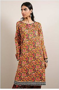 Generation-Pre Fall Collection Afro Floral Cambric Contemporary-B29253T-Yellow