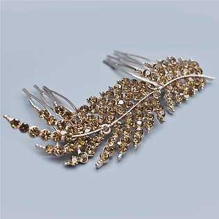 Wedding Crystal Peals Hair Combs Bridal Hair Clips Accessories Jewelry Handmade…