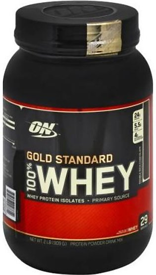 ON Gold Standard 100% Whey Protein - 2lbs - Double Rich chocolate