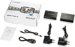 LALA LESHP HDMI Extender Bi-directional IR 3D HDMI Loop Out with Dual IR Control