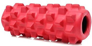 【Best Discounts】5×13 inch Deluxe Foam Grid Sports Yoga Massage Roller Injury/Physio/Gym/Muscle Repai (Red)