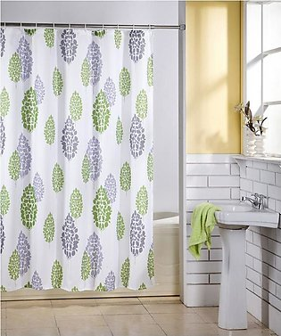 Shower Curtain Water Resistant Odorless Water-Repellent Curtain Splicing Style …