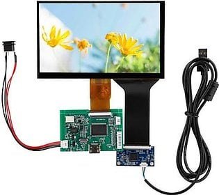 1 PC 7inch LCD TFT Display Module 800*480 / 1024*600 VGA Monitor Screen Kit LCD Driver Board for Raspberry Pi 3