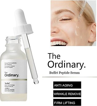 The Ordinary Buffet Multi-Technology Peptide Serum 30ml - Anti Aging - Wrinkl...
