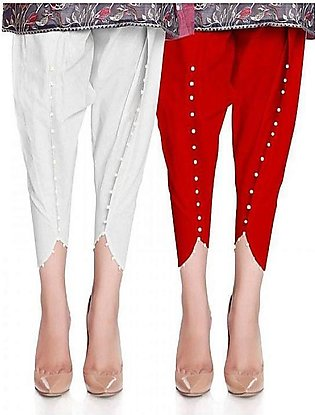 Pack Of 2 Stylish Tulip Pants For Women