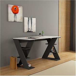 Modren Style Study Table And Computer Table)  MDF-Wood