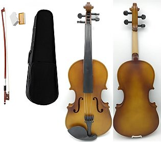 Dull matte color violin 4/4 size