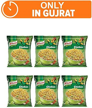 Knorr Noodles Chiken pack of 6 (One day delivery in Gujrat)