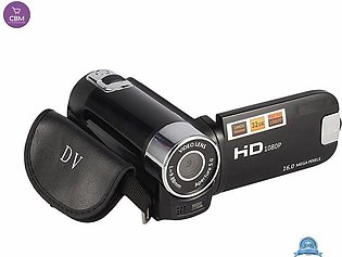 FHD 1080P 16X Zoom 16MP Digital Video Camera Camcorder DV Black(N)