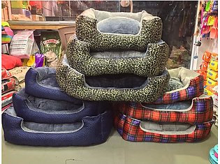 CAT BED WARM WINTER BEDS - FOR SMALL CAT DOG BEDS - BEST FOR YOUR KITTEN, CATS,…