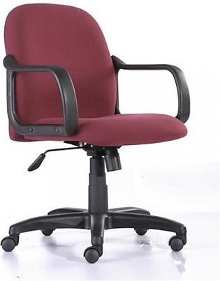 Office Revolving Chair - Red