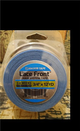 """Lace front Blue tape roll 3/4"""" 12 yards double-sided adhesive tape for lace wig…"""