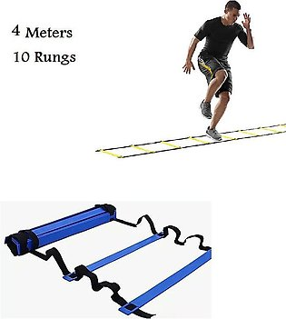 4 Meters Football training agility ladder 10 rungs exercise fitness ladder dril…