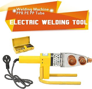 220V Full Automatic Electric Heating Tool PPR PE PP Tube Pipe Welding Machine...
