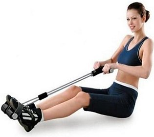 Tummy Trimmer Double Spring - Silver & Black