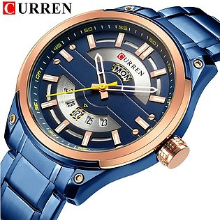 Relojes CURREN Watches Men Fashion Quartz Mens Watch With Calendar Stainless ...