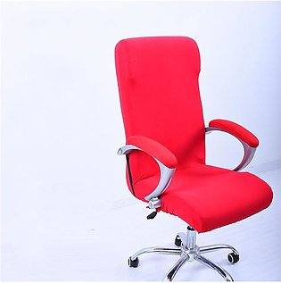 Office chair armrest cover set computer boss seat cover cloth Stool Set swive...