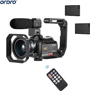 Andoer HDV-201LM 1080P FHD Digital Video Camera Camcorder DV Recorder 24MP 16X Digital Zoom 3.0 Inch LCD Screen with 2pcs Rechargeable Batteries