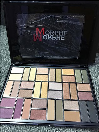 Morphe 36 Color Nature Glow Eyeshadow Palette big eyeshadow