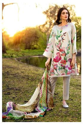 """GA - GUL Ahmed-Eid Collection 2019 Off White Fancy-3PC Unstitched-FE-219-203539"""""""