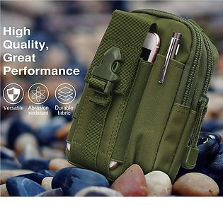 Waist Bag EDC Molle Belt Waist Pouch Security Purse Phone Carrying Case for i...
