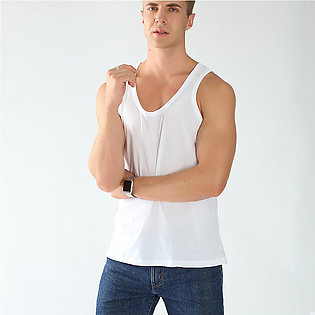 Pack of 1 Pure Cotton Vest for Men Sleeves less Premium Quality Banyan for Inne…