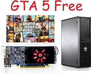 Free GTA 5 gaming PC Dell Optiplex 755 Desktop with Graphic Card HD7500 Serie...
