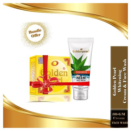 Golden Pear Whitening Neem Face Wash & Beauty Cream