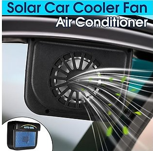 Solar Powered Car Auto Cooling Fan Air Vent Mini Solar Cool Exhaust Fan For Auto