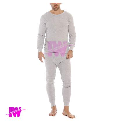 2 Pcs Mens Boys Premium Full Body Suit Thermal Body Warmer Skin Tight Stretchable Innerwear Winter Warm Long Johns Trouser Pajama Full Sleeve Shirt Light Grey / Silver Full Daraz Full Bazoo 2nd Skin innerwear pk