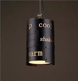 Vintage special-shaped Pendant Light Wrought Iron Lamp Restaurant Hanging Lamp …
