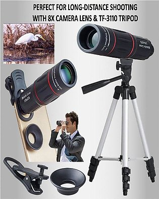 PERFECT DEAL OFFER WITH 8X MOBILE LENS WITH TRIPOD  3110
